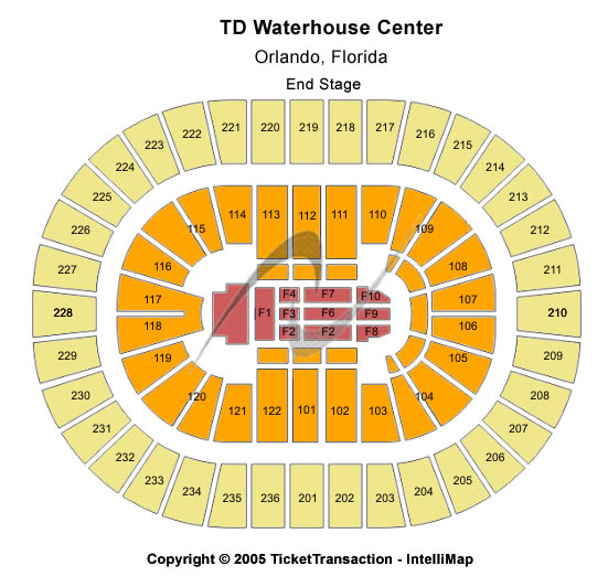 Amway Arena (formerly TD Waterhouse Centre) Tickets