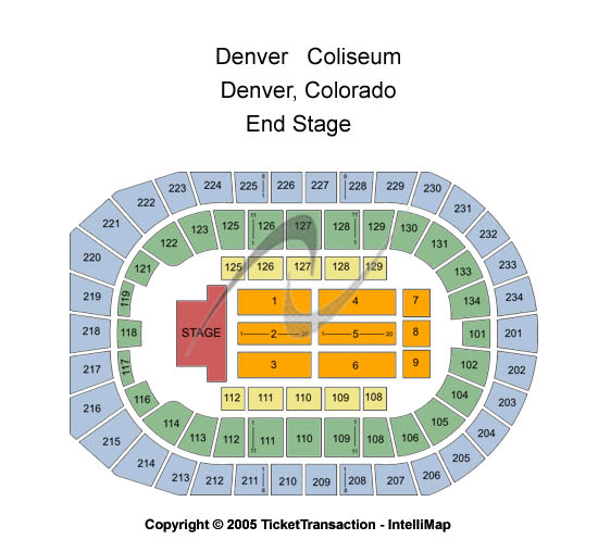 Cheap denver coliseum tickets
