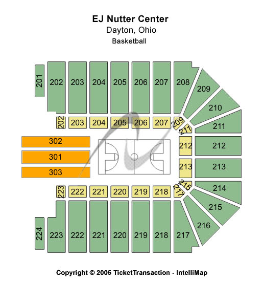 Cheap ej nutter center tickets