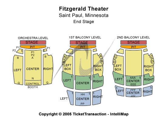 Cheap fitzgerald theater tickets