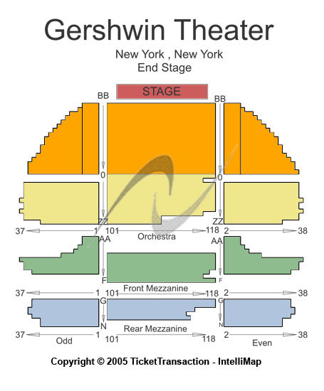 Cheap Gershwin Theatre Tickets